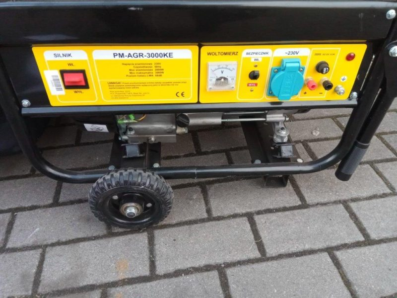 Agregat prądotwórczy jednofazowy